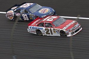 NASCAR Cup Race report Bayne soldiers through handling problems to finish 22nd in Texas 500