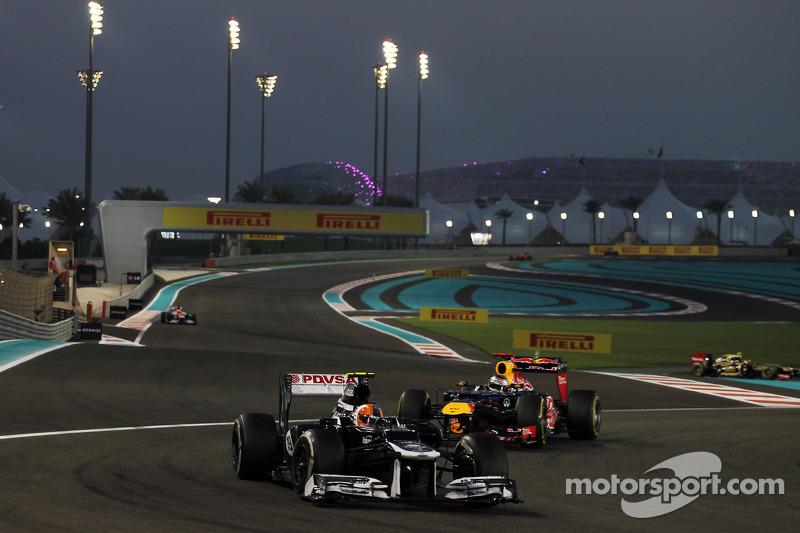 Gillan reflects on Williams points haul at Abu Dhabi