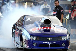NHRA Race report On Pomona finale Line clinches second in championship