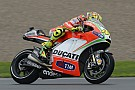 Valencia weather changes affect Rossi's final Ducati ride