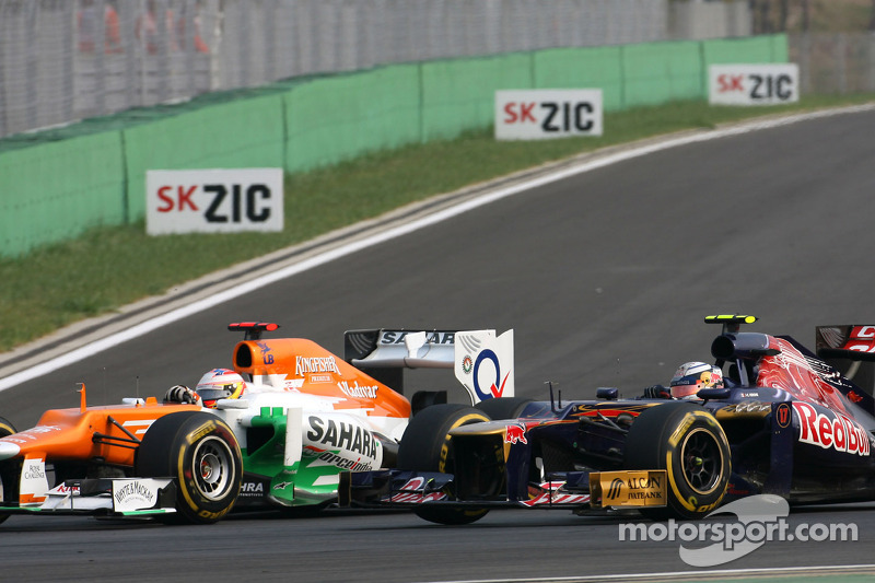 Toro Rosso, Force India to change engines for 2014