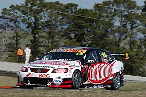 Supercars Practice report Rising heat in Winton hinders Lockwood Racing
