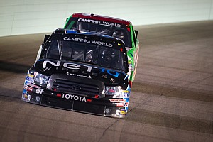 NASCAR Truck Race report Quiroga earns hard-fought 15th-place finish in finale at Homestead