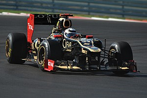 Formula 1 Qualifying report Lotus happy with its qualifying result on US Gran Prix