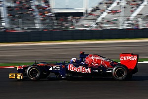 Formula 1 Race report Toro Rosso has mixed results in Circuit of The Americas