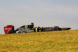 Formula 1 Practice report Lotus had on Friday an encouraging start to the weekend in São Paulo