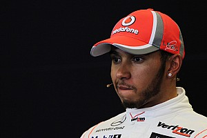 Formula 1 Breaking news Hamilton cries during interview for last McLaren race