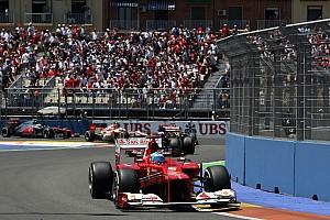 Formula 1 Breaking news Valencia hoping for F1 return in 2014