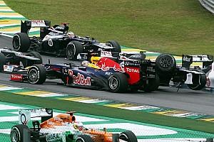 Formula 1 Breaking news Vettel frowns upon fans' Bruno Senna abuse