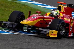 GP2 Interview Rene Binder satisfied with Jerez post-season testing