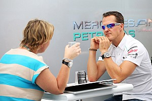 Formula 1 Breaking news Schumacher flags possibility of 'small belly'