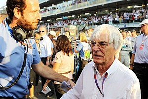 Formula 1 Breaking news Ecclestone admits scandal could cost him F1 job