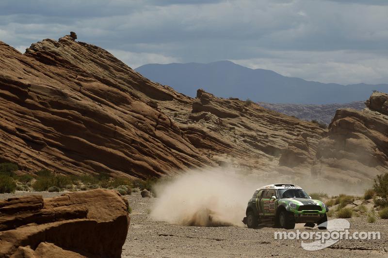 MINI ALL4 Racing engage in ultimate challenge on 2013 Dakar Rally