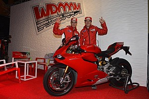 MotoGP Breaking news Dovizioso and Hayden in the spotlight at Wrooom 2013