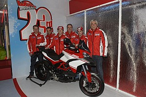 MotoGP Breaking news Ducati get 2013 campaign underway at Wroom 2013