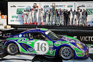 Grand-Am Race report Napleton Racing delivers dominant GX class debut victory in Rolex 24 At Daytona
