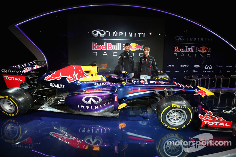 Infiniti Red Bull Racing reveals title partnership and new livery 42577e9fb606c