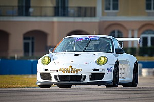 ALMS Testing report TRG fastest in GTC class on day one of winter testing at Sebring