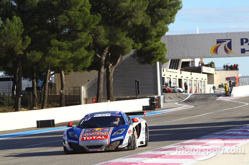 Parisy and Zuber selected as drivers of the second Sébastien Loeb Racing McLaren MP4-12C