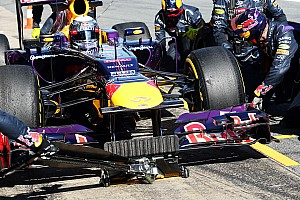 Formula 1 Testing report Vettel's second day of testing at Barcelona ended with mixed emotions