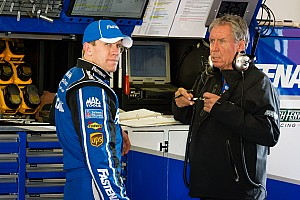 NASCAR Cup Interview Edwards and crew chief ready to put Daytona bad luck behind them