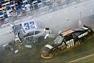 Last lap crash overshadows another Stewart NNS win at Daytona