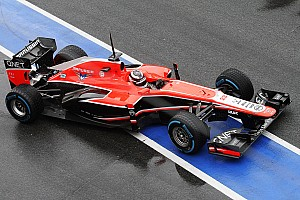 Formula 1 Testing report Despite the changeable conditions Marussia made progress on day two in Barcelona