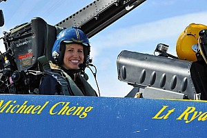NHRA Special feature Courtney Force takes a ride with the Blue Angels