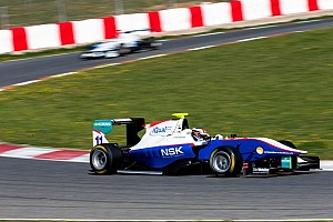 GP3 Testing report  Niederhauser on top as Barcelona testing ends