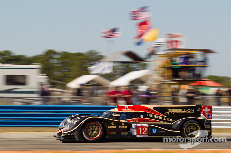 Rebellion Racing had good qualifying results at Sebring