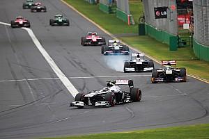Formula 1 Race report Williams F1 Team notes for Australian GP