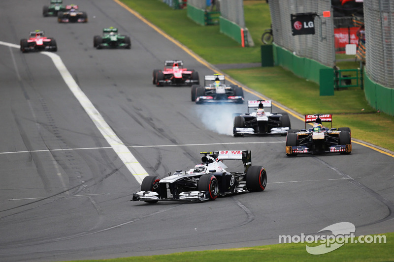 Williams F1 Team notes for Australian GP