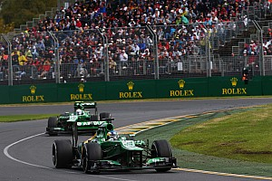 Formula 1 Race report Pic finished 16th and Van der Garder in 18th on Astralian GP