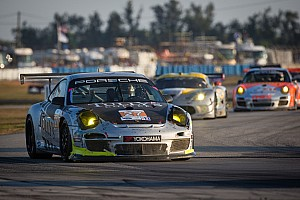 ALMS Race report Dempsey Del Piero Racing brings both its cars home to the finish in Sebring