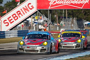 ALMS Race report Pumpelly second at Sebring