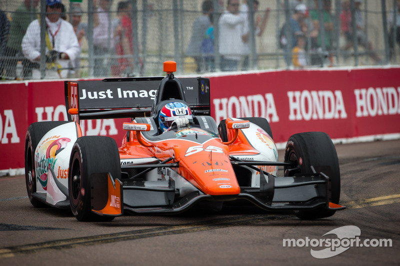 Rookie Vautier surprises in St. Pete qualifying