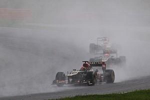 Formula 1 Race report Grosjean finished sixth and Raikkonen seventh in Malaysian GP