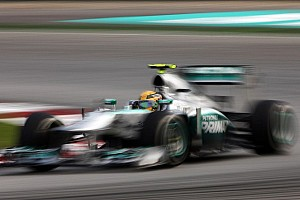 Formula 1 Blog Hamilton paid a visit to his former team during the Malaysian Grand Prix