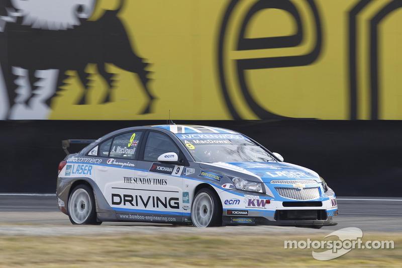 Winning start for Brit MacDowall in Monza