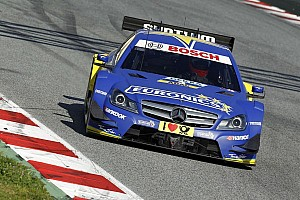 DTM Testing report Gary Paffett the quickest on day two testing in Barcelona