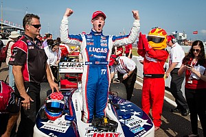 Indy Lights Race report Hawksworth kick-starts title bid with victory in the Sunshine State