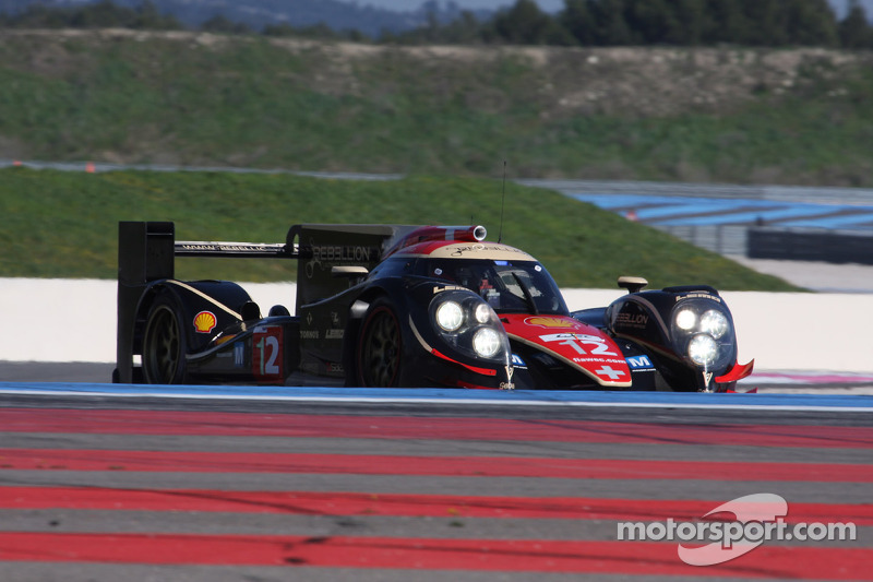 Rebellion Racing tops official test days at Paul Ricard HTTT