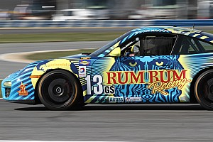 Grand-Am Qualifying report Shortened qualifying puts Rum Bum Racing eighth on the CTSCC grid in Alabama
