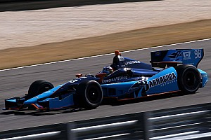 IndyCar Practice report Tagliani and Vautier pace fast friday for Honda at Barber