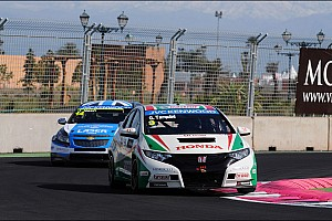 WTCC Race report Mixed feelings for Gabriele Tarquini at Marrakech