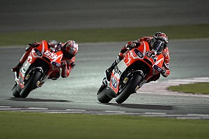 MotoGP Race report Dovizioso, Hayden seventh and eighth in Qatar Grand Prix