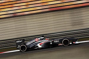 Formula 1 Qualifying report Good qualifying result for Sauber F1 Team at China
