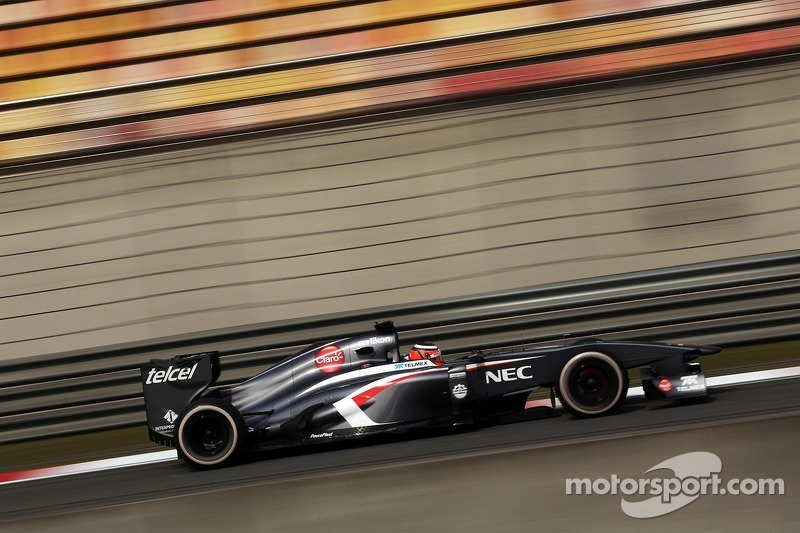 Good qualifying result for Sauber F1 Team at China