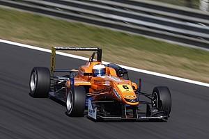 F3 Europe Race report Felix Rosenqvist wins spectacular race 2 in Silverstone