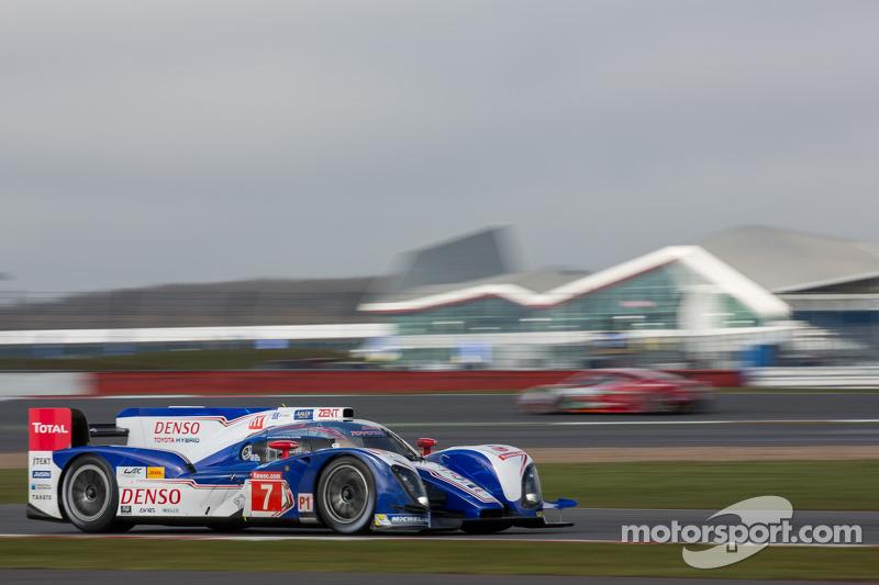 Toyota Racing begins season with podium finish at Silverstone